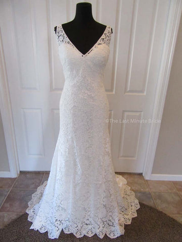 Justin Alexander Style 88017 (All Ivory)