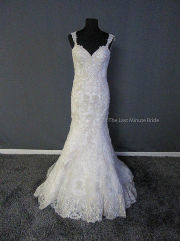 100% Authentic Justin Alexander 9829 Wedding Dress