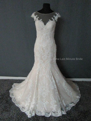 100% Authentic Justin Alexander 9845 Wedding Dress
