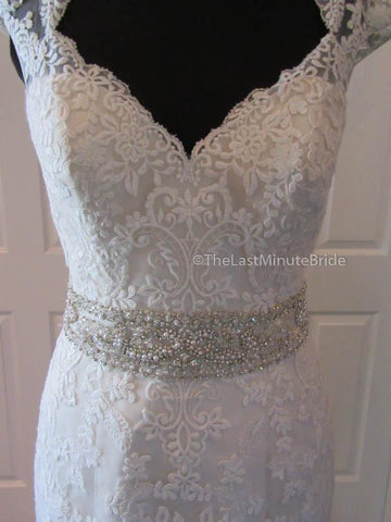 35.5 Bust Wedding Dress