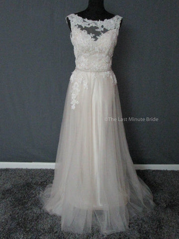 100% Authentic Maggie Sottero Elka 5MT676 Wedding Dress