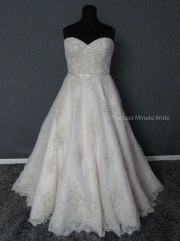 Maggie Sottero Hannah 4MS901 size 24 sold out