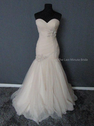 100% Authentic Maggie Sottero Lacey Marie 5MZ134FW Wedding Dress