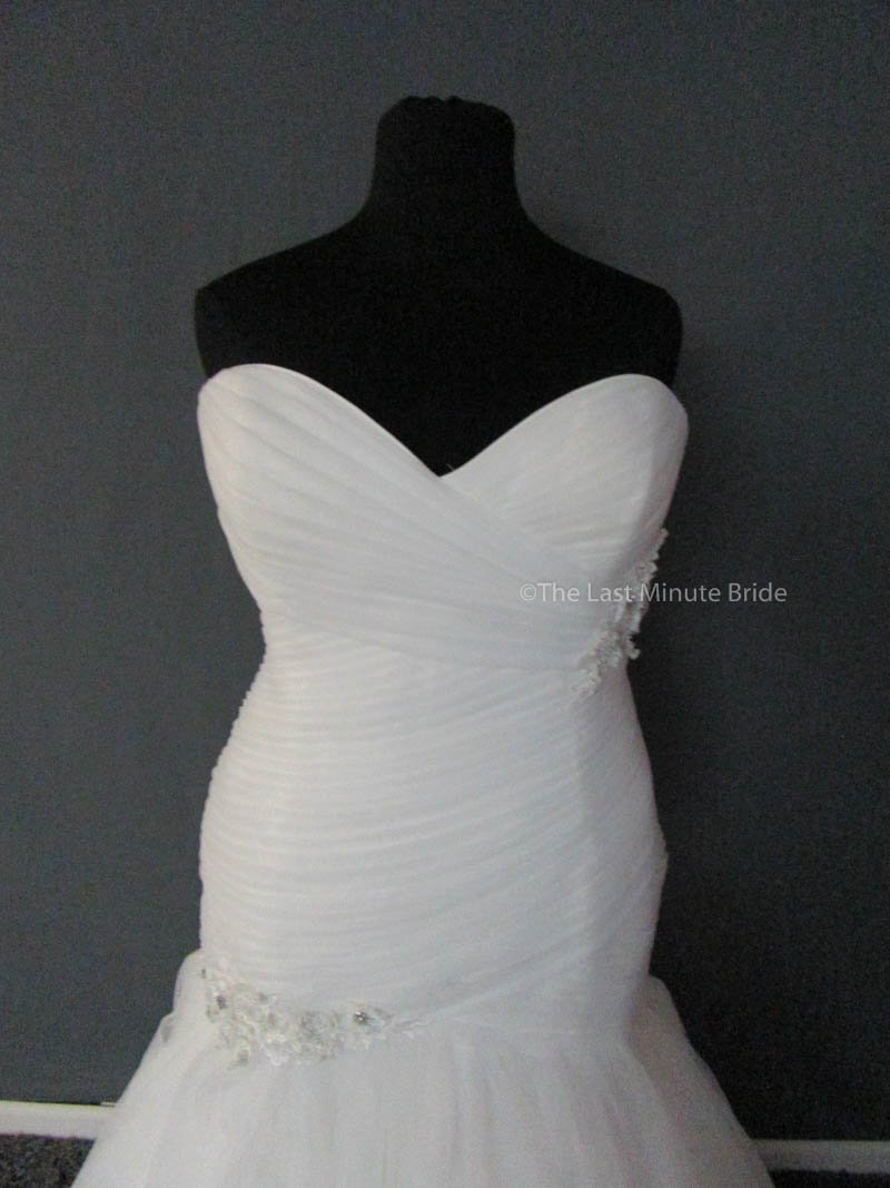 Maggie Sottero Lacey Marie 5MZ134FW size 24 - The Last Minute Bride