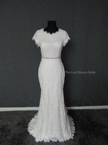 100% Authentic Maggie Sottero Raylene 8MW479 Wedding Dress