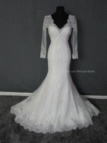 100% Authentic Maggie Sottero Roberta 6MS772 Wedding Dress
