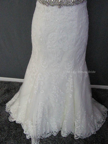 53.5 Hips  Wedding Dress
