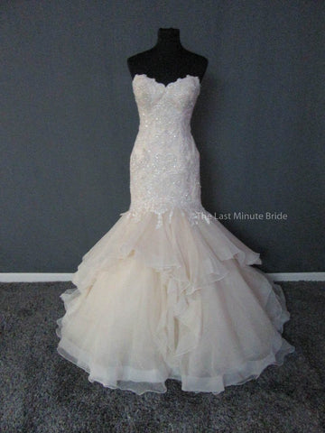 100% Authentic Maggie Sottero Malina 6MW181 Wedding Dress