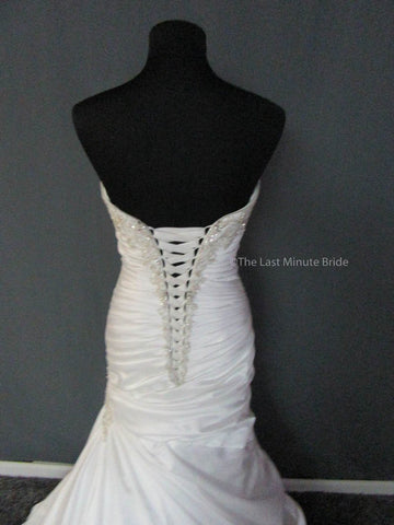 Corset Back Wedding Dress