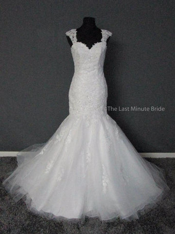 100% Authentic Mori Lee 5407 Wedding Dress