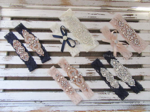Bridal Garter Style: Endless Love (Set)