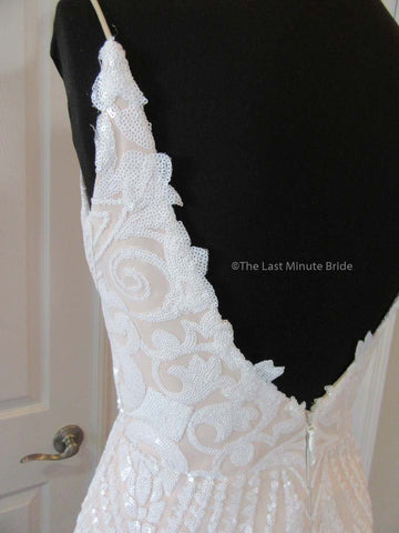 Samantha by The Last Minute Bride (Made to Order Ivory/Nude Size 2 - 34)