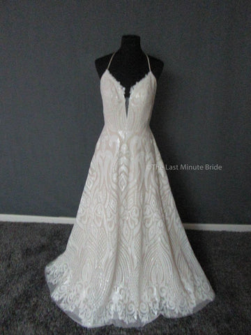 100% Authentic Samantha Rose by The Last Minute Bride Wedding Dress