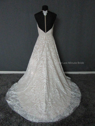 Color Cafe Champagne Wedding Dress