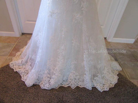Color Alabaster Wedding Dress