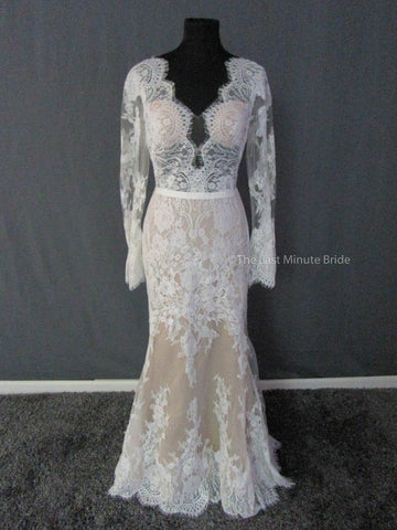 100% Authentic Willowby by Watters wedding dress