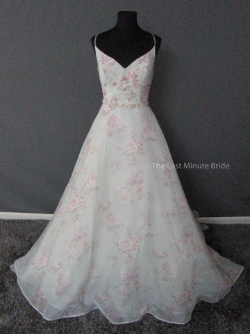 100% Authentic Sottero Midgley Kira 6SW781 Wedding Dress