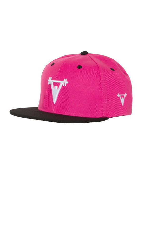 Cut Above Clothing Cut Above 'Baller' Snapback in Pink