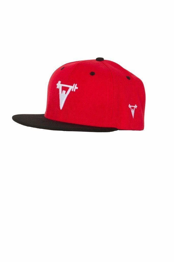 Cut Above 'Baller' Snapback in Red