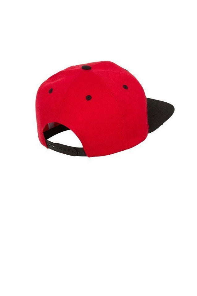Cut Above Clothing Cut Above 'Baller' Snapback in Red