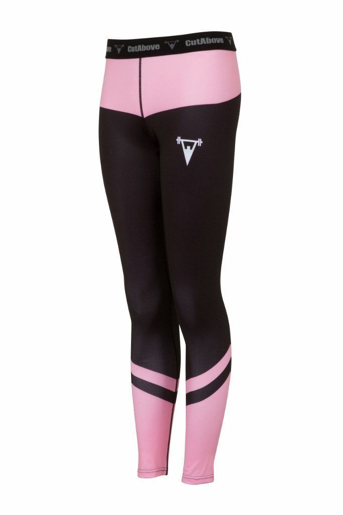 Cut Above Performance Womens Leggings - Pink