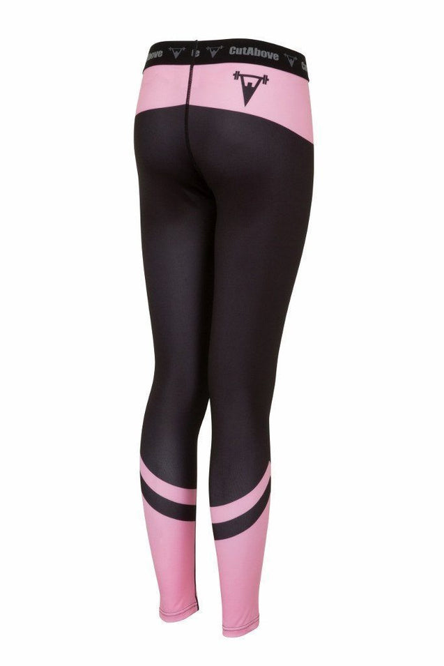 Cut Above Clothing Cut Above Performance Womens Leggings - Pink