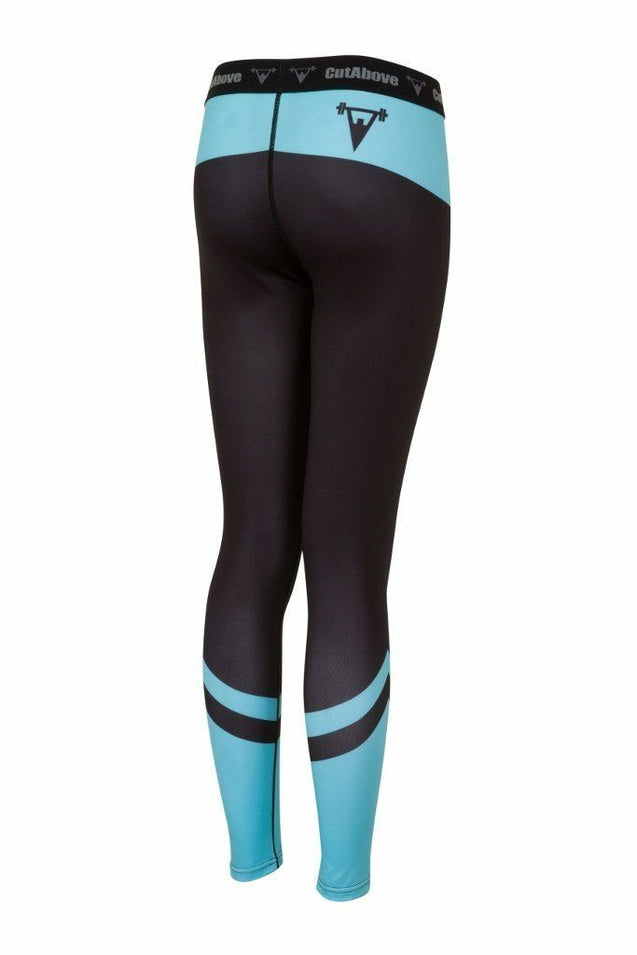 Cut Above Clothing Cut Above Performance Womes Leggings - Teal