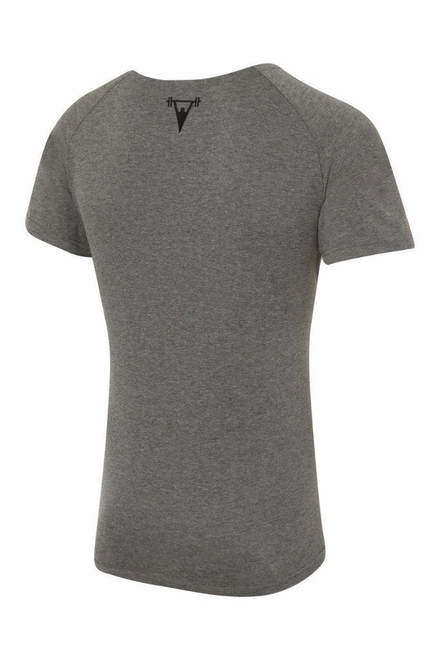 Cut Above Cut Above 'Basik' Scoop Neck T-Shirt in Grey