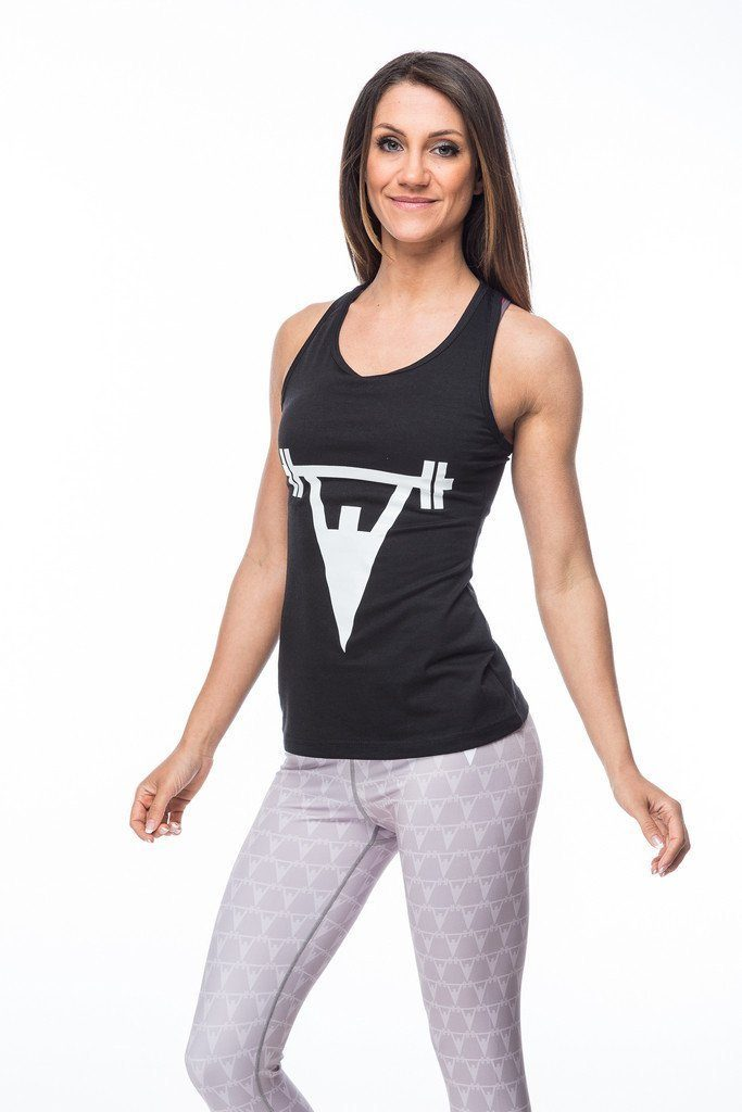 Cut Above 'Lifted' Womens Vest in Black