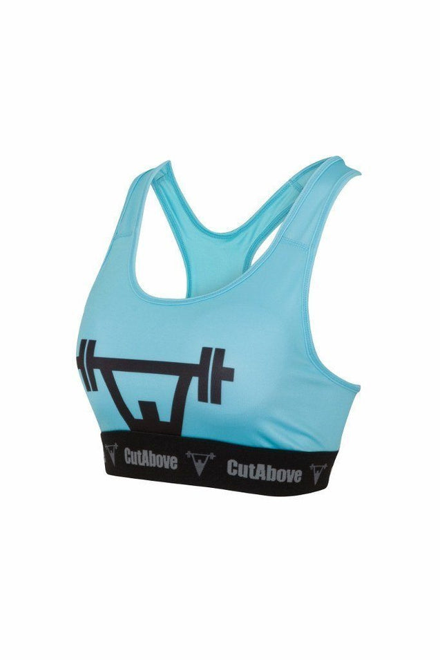 Cut Above Cut Above 'Prime' Womens Sports Bra in Teal