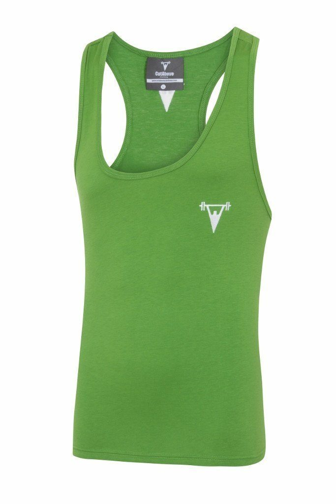 Cut Above 'Icon' Vest in Khaki Green
