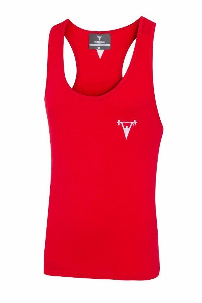 Cut Above 'Icon' Vest in Red