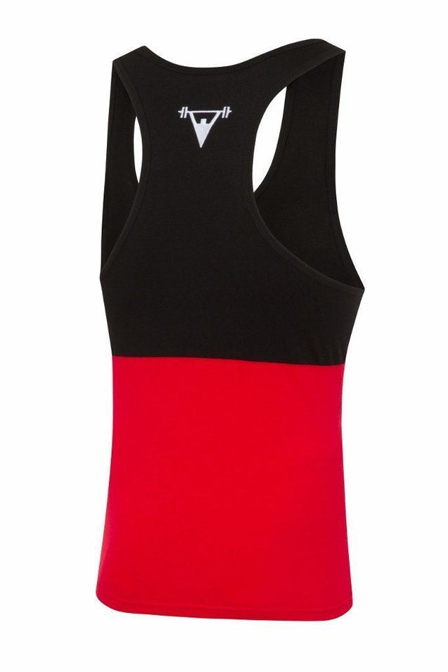 Cut Above Vest Cut Above 'Kontrast' Vest in Black/Red