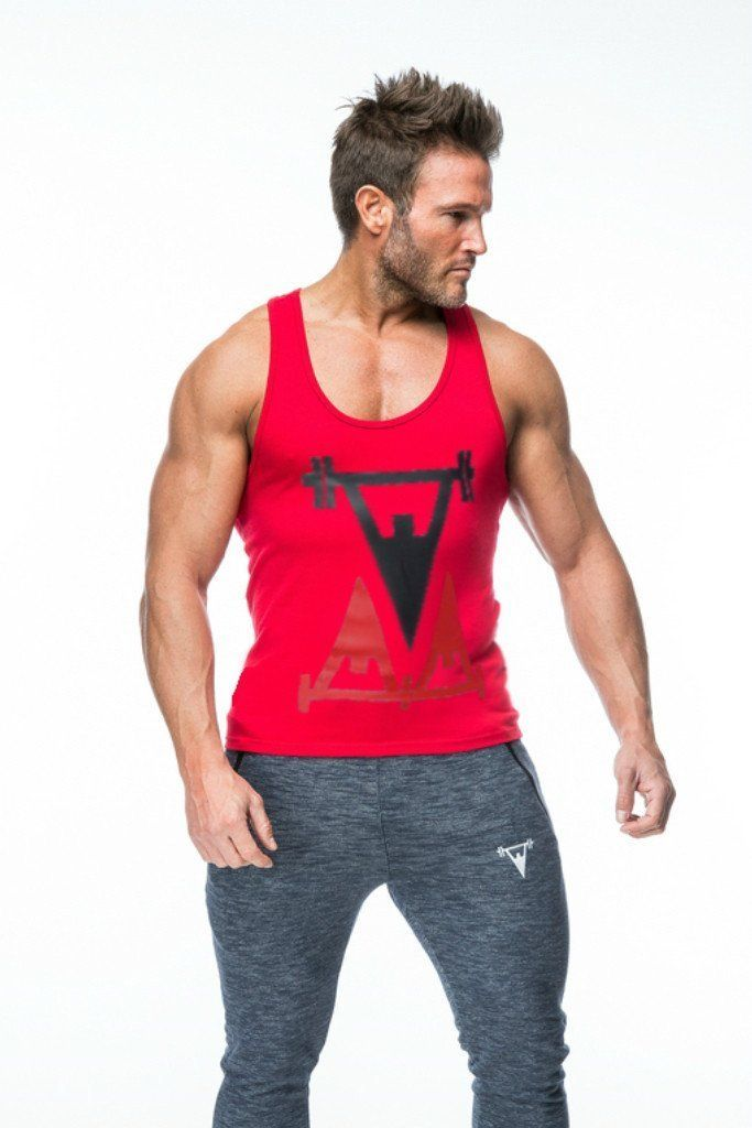 Cut Above 'Repped' Vest in Red