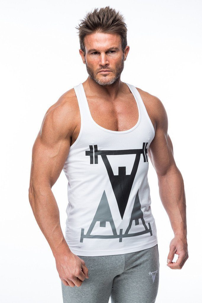 Cut Above 'Repped' Vest in White