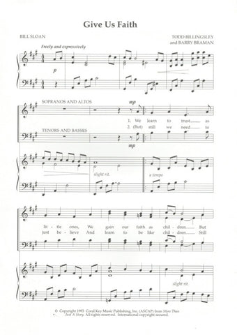 Give Us Faith (SATB)