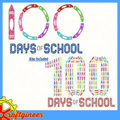 100 Days Crayons