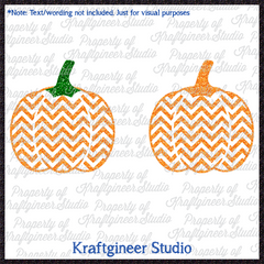 Chevron Pumpkins Collection