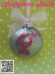 Ribbon of Butterflies Ornament
