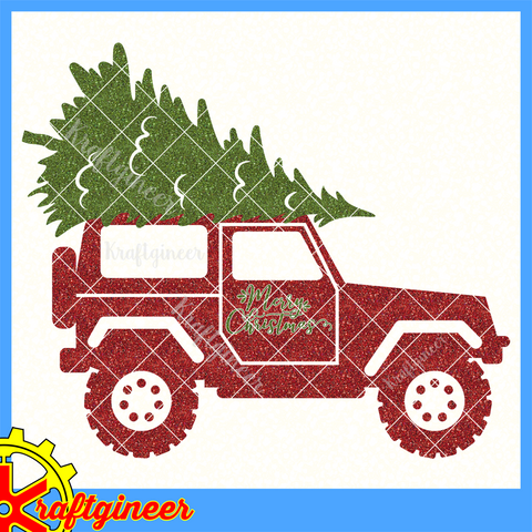 Christmas Tree SUV