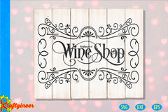 Coffee & Wine Sign