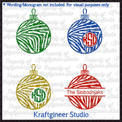 Ornament Wild Stripe Set