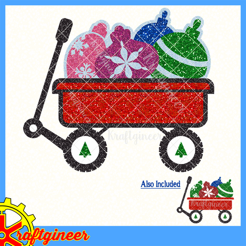 Ornaments Wagon