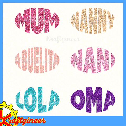 Oval Mom Names