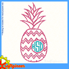 Pineapple Chevron