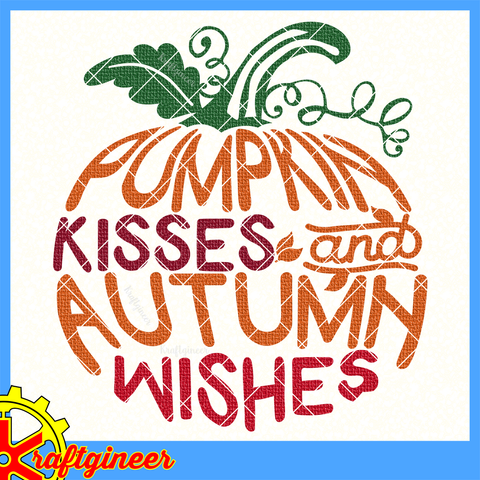 Pumpkin Kisses Pumpkin