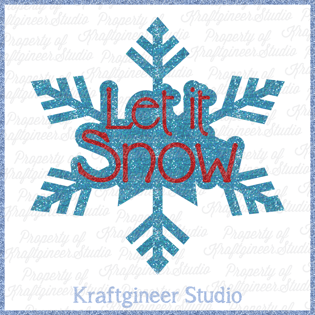 Let it Snow Freebie