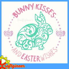 Swirly Bunny Kisses