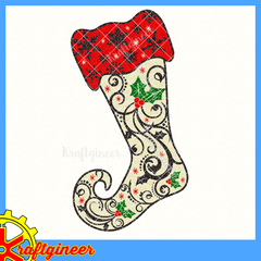 Swirly Stocking