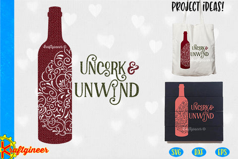 Uncork Swirly Wine